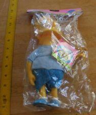 "Bart Simpson w/ slingshot Presents action figure 9"" 1990 MIP"