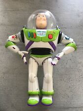 Disney THINKWAY Toy Story Buzz Lightyear Toy Figure Talking Spanish