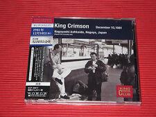 KING CRIMSON Collectors' Club 1981, 12/10, Nagoyashi Kokaido   JAPAN 2 CD SET