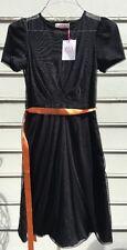 La Casita De Wendy Black Tulle Dress Sz S