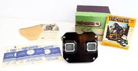 Vintage Sawyers VIEW-MASTER STEREOSCOPE VIEWER in Original Box 3 Reels Paper