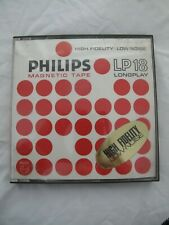 More details for philips lp18 longplay magnetic tape 7