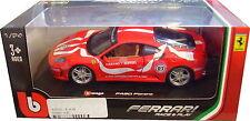 BURAGO 1/24 DIECAST MODEL FERRARI F430 FIORANO BU26009