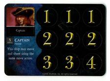 Pirates Of Davy Jones' Curse, Spanish Regular Crew, Captain, #112