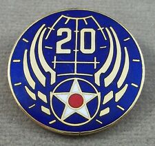 Us Army Air Force 20th Air Force Unit Crest Insignia - Clutchback