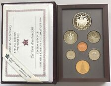 1994 ~ CANADA ~ DOUBLE DOLLAR PROOF SET ~ RCMP Northern Dog Team Patrol DOLLAR