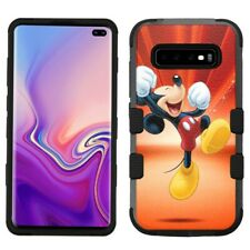 "Samsung Galaxy S10 (6.1"") Hard Impact Rugged Protector Case Mickey Mouse #Y"