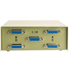 DB15 ABCD 4 Way 4-PORT  Switch Box  1348