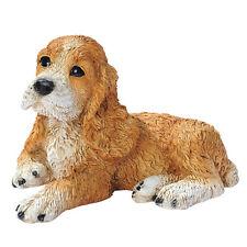 Puppy Dog: Brown Cocker Spaniel Breed Man's Best Friend Animal Sculpture