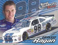 "2014 DAVID RAGAN ""BIAGI DENBESTE RACING"" #98 NASCAR NATIONWIDE SERIES POSTCARD"