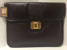 Juicy Couture Leather Gemlock iPad Sleeve, Depp Brown