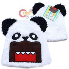 Domo kun Panda Bear Beanie  Plush Fur Beanie Hat  Fit Kids to Teen Licensed