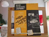 REVUE TECHNIQUE AUTOMOBILE N°191 MARS 1962 BE/TBE BERLIET EVINRUDE