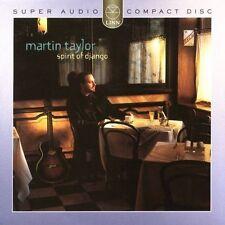 Spirit of Django by Martin Taylor (CD, Apr-2004, Linn Records (UK))
