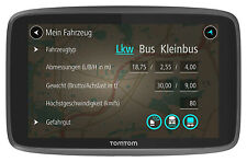 Tomtom Go Professional 6200 LKW-Navigationsgerät 6 Zoll Schwarz - guter Zustand