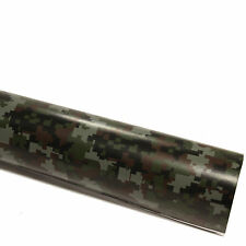 DIN A4 Wrapping Folie Camouflage Tetris / Matrix Autofolie mit Luftkanälen