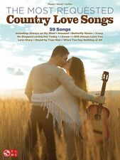 The Most Requested Country Love Songs Sheet Music Piano Vocal Guitar 000159649