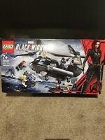 LEGO 76162 Black Widow's Helicopter Chase Marvel Super Heroes Taskmaster