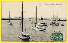 cpa 17 - LA PALLICE ROCHELLE en 1912 (Charente Maritime) L'Avant Port Bateaux
