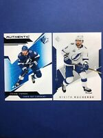 2018-19 UD SP Authentic Profiles Blue # AP-SS Steven Stamkos And Kucherov Base