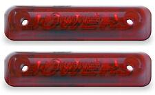 2 x JOKON S24-2 RED LED REAR MARKER LAMPS LIGHTS ADRIA CORAL BESSACARR MOTORHOME