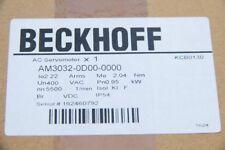 BECKHOFF AC Servomotor AM3032 Typ AM3032-0D00-0000  OVP,  NEU