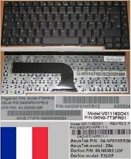 Azerty French Keyboard ASUS Z94 99.N5382.U0F 9J.N0D82.00F 04GNF01KFR11-1 Black