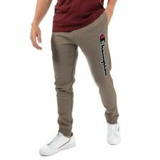 Men's Champion Large Logo Regular Fit Jogger Pants in Brown