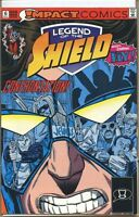 Legend of the Shield 1991 series # 6 very fine comic book