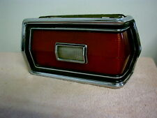 1974 1975 1976 FORD TORINO TAIL LIGHT CHROME TAILLIGHT LH [DRIVERS SIDE]   11-19