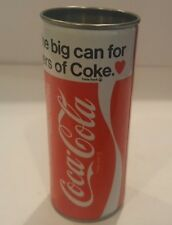 Vintage Coca Cola  16oz For Lovers of Coke Soda Soft Drink Can