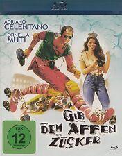 Gib dem Affen Zucker ( Kult Komödie )mit Adriano Celentano, Ornella Muti BLU-RAY