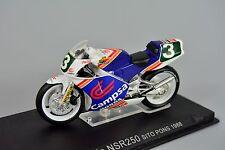 R&l Diecast Escala: 1/24 Motocicleta Honda NSR250 1988 Sito Pons