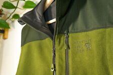 Mountain Hardwear Mountain Tech fleece / soft-shell windstopper vest, Men's M