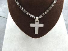 Silberkette mit Kreuzanhänger Neu