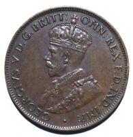 1936 Australia Half 1/2 Penny - George V - Lot 790