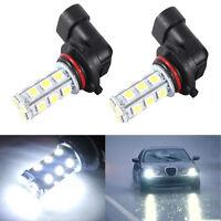 2x HID White HB3 9005 18SMD 5050 LED Car DRL Fog Driving HeadLight Bulb Lamp 12V