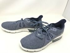 Mens Nike (921694-402) Air Max Sequent 3 Navy sneakers (413H)