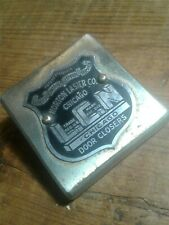 VINTAGE LCN NORTON LASIER CO. CHICAGO DOOR CLOSERS ADVERTISING PAPERWEIGHT