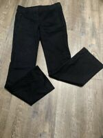 NEW Ann Taylor LOFT Black Marisa Pants Size 6 NWT Zippered Pockets Straight Leg
