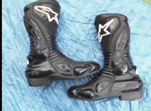 Alpinestars Women's Motorcycle Boots In Excellent. Size Euro 38. Free Postage!