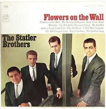 The Statler Brothers Flowers on the Wall LP Album CS9249 Columbia Records