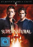 Supernatural - Staffel 5 [6 DVDs](NEU/OVP) Zwei Brüder und ein gefallener Engel