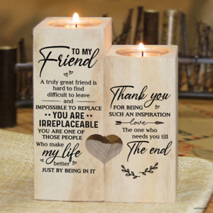 To My Bestie - You are irreplaceable - Candle Holder