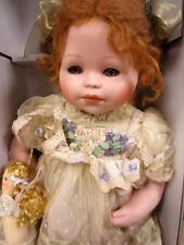 Mundia Collection-Margot et sa poupee porcelain handcrafted Doll