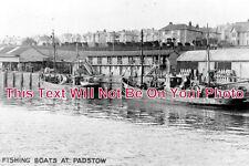 CO 237 - Fishing Boats At Padstow, Cornwall - 6x4 Photo
