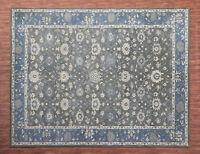 Ballard Montana Gray Oriental Parsian Style Handmade 100% Wool Rug & Carpet
