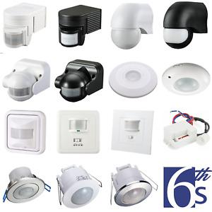 Bewegungsmelder Bewegungssensor Außen Bewegungs Sensor Aufputz Infrarot E27 LED