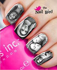 Nail Art Nail Decals Nail Transfers Nail Wraps JESUS BLACK & WHITE Xmas Gift
