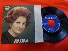 DISCO 45 giri  - Mina  – Due Note / Uno Spicchio Di Luna - italdisc  1960